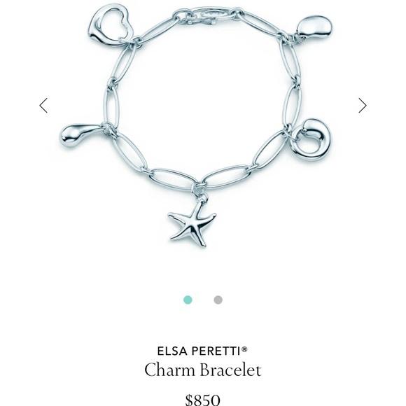 ece2b5511 Tiffany & Co. Jewelry   Tiffanys Elsa Peretti Charm Bracelet   Poshmark